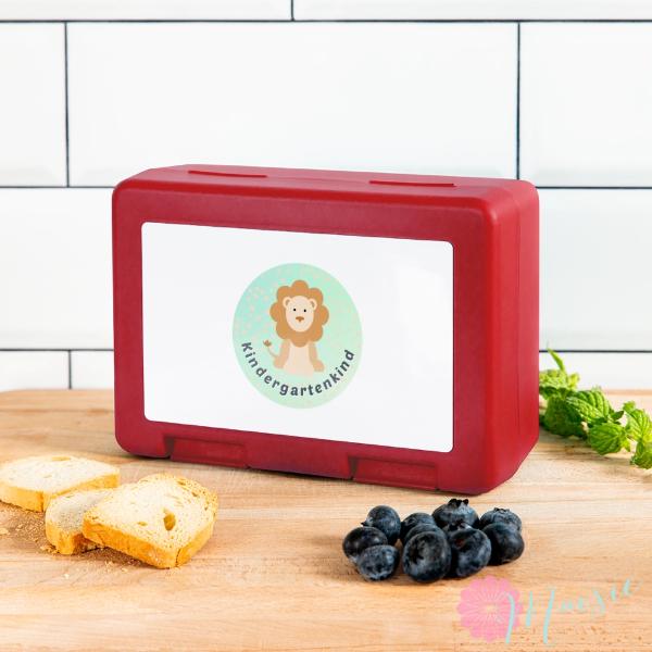 Kindergarten Frühstücks Box mit süßem Motiv