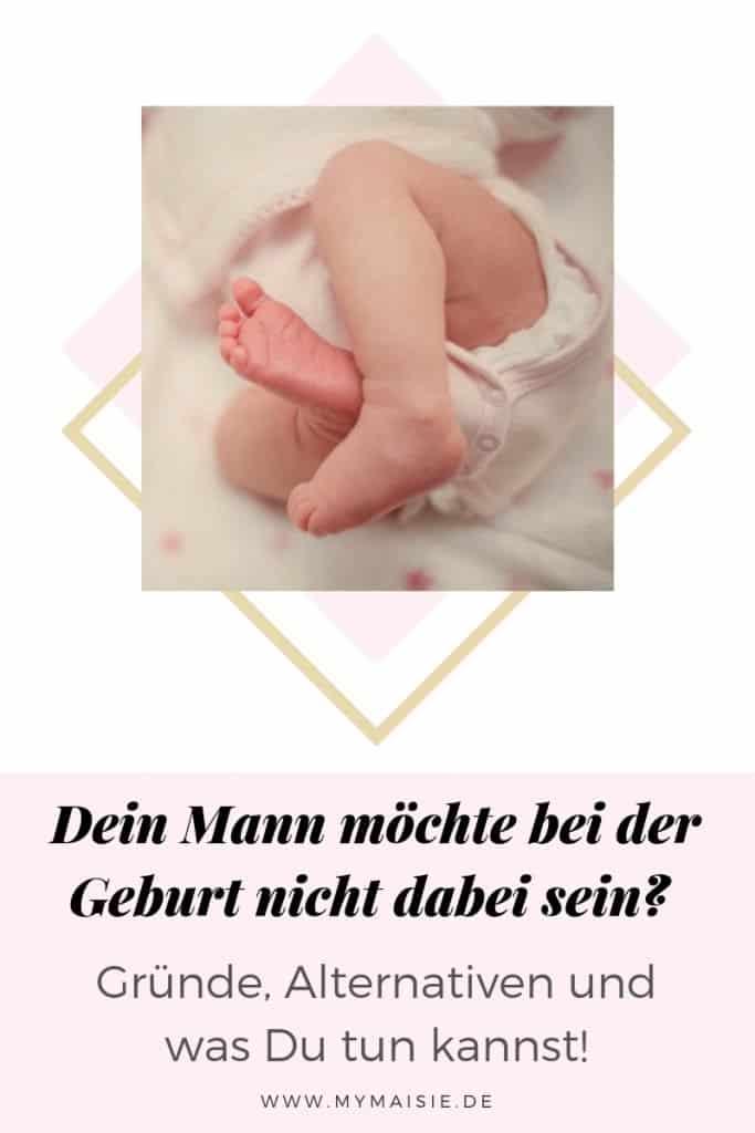 Dein Mann möchte bei der Geburt nicht dabei sein? Gründe, Alternativen und was Du tun kannst!