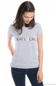 My Maisie Mockup Spreadshirt Eat Local Stillen