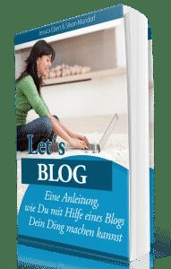 Blog erstellen ebook und kostenloses Webinar