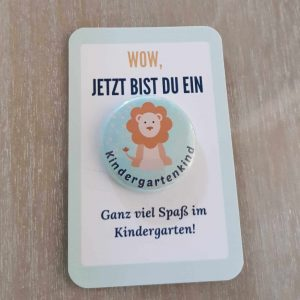 Kindergartenkind Button