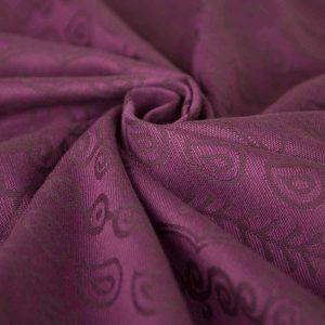 Tragetuch Gewebt – Darjeeling purpur