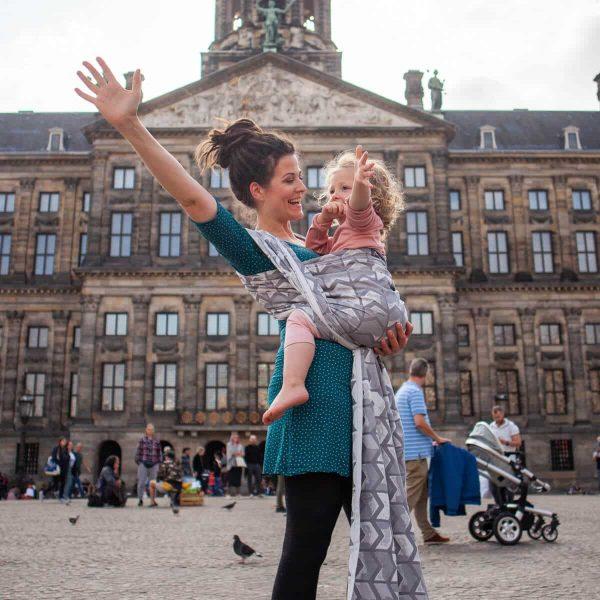 Tragetuch Gewebt - Amsterdam Stone