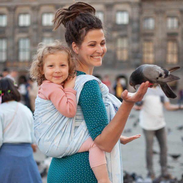 Tragetuch Gewebt - Amsterdam Aqua