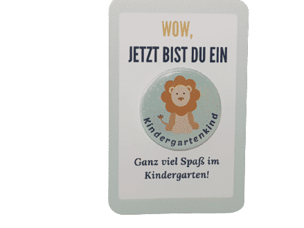 Kindergarten Button