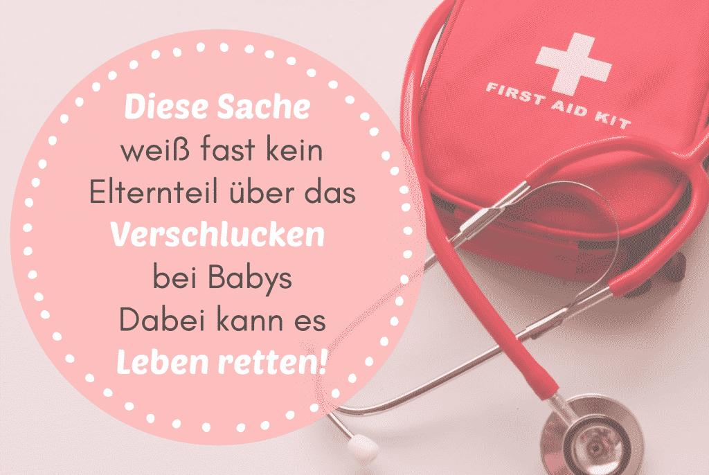 Diese Sache weiß fast kein Elternteil über das Verschlucken bei Säuglingen - Dabei kann es Leben retten!