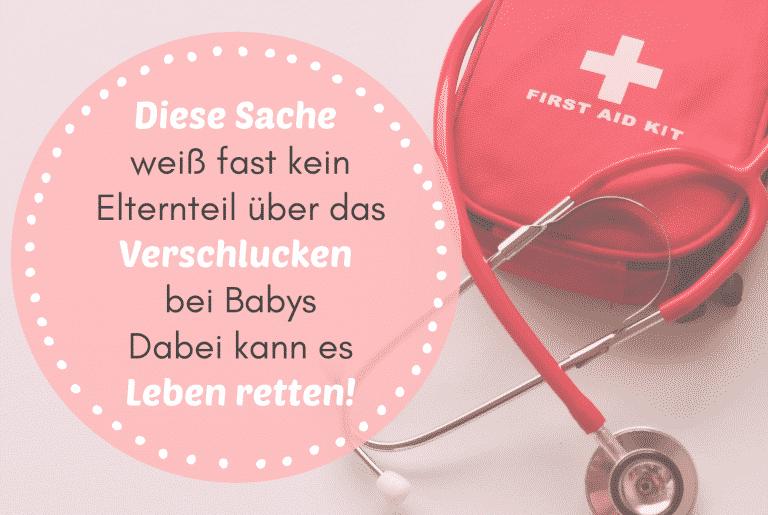 Read more about the article Diese Sache weiß fast kein Elternteil über das Verschlucken bei Säuglingen – Dabei kann es Leben retten!